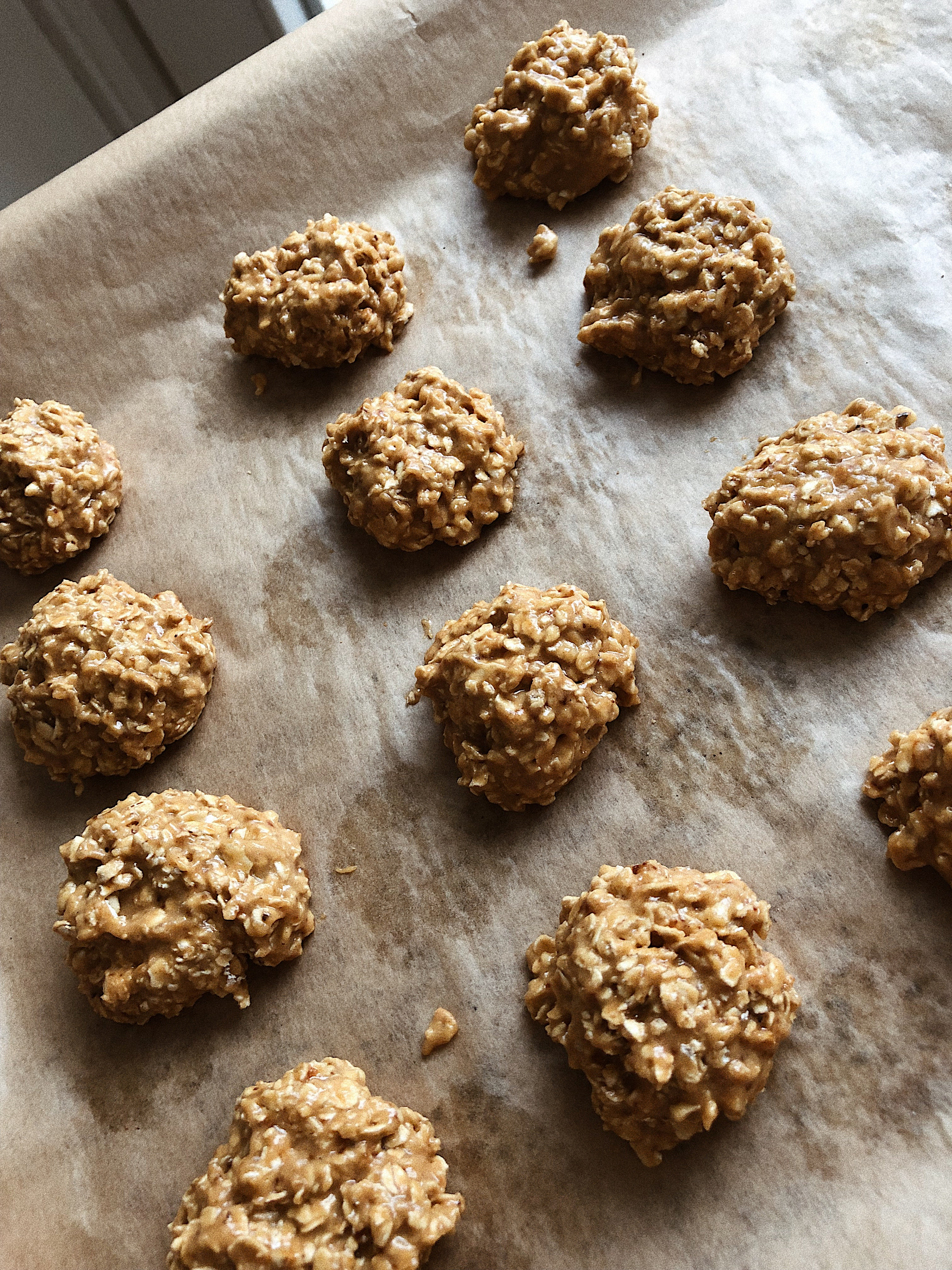 Salted Peanut Butter & Oat Breakfast Cookies